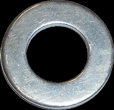 Scheiben DIN 125 /A verzinkt